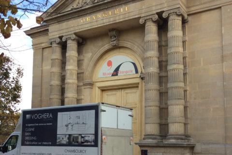 Fabrication de mobilier au Musée de l'Orangerie «Orsay»